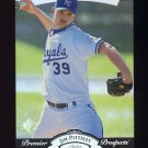 1995 SP Silver #017 Jim Pittsley RC - Kansas City Royals