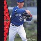 1995 SP Baseball #202 David Cone - Toronto Blue Jays