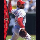 1995 SP Baseball #199 Kenny Rogers - Texas Rangers