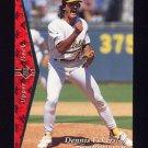 1995 SP Baseball #187 Dennis Eckersley - Oakland A's