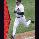 1995 SP Baseball #156 Kirk Gibson - Detroit Tigers