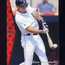 1995 SP Baseball #154 Alan Trammell - Detroit Tigers