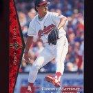 1995 SP Baseball #147 Dennis Martinez - Cleveland Indians