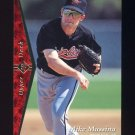 1995 SP Baseball #119 Mike Mussina - Baltimore Orioles