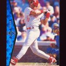 1995 SP Baseball #045 Barry Larkin - Cincinnati Reds