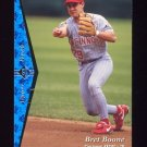 1995 SP Baseball #044 Bret Boone - Cincinnati Reds