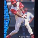 1995 SP Baseball #041 Reggie Sanders - Cincinnati Reds