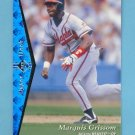 1995 SP Baseball #029 Marquis Grissom - Atlanta Braves
