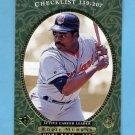 1995 SP Baseball #027 Eddie Murray - Cleveland Indians
