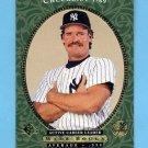 1995 SP Baseball #025 Wade Boggs - New York Yankees