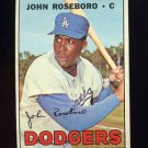 1967 Topps Baseball #365 John Roseboro - Los Angeles Dodgers