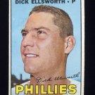 1967 Topps Baseball #359 Dick Ellsworth - Philadelphia Phillies