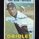 1967 Topps Baseball #319 Paul Blair - Baltimore Orioles