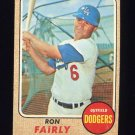 1968 Topps Baseball #510 Ron Fairly - Los Angeles Dodgers