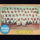 1968 Topps Baseball #497 St. Louis Cardinals TC