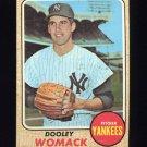 1968 Topps Baseball #431 Dooley Womack - New York Yankees