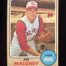 1968 Topps Baseball #425 Jim Maloney - Cincinnati Reds