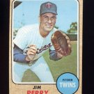 1968 Topps Baseball #393 Jim Perry - Minnesota Twins
