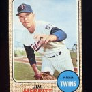 1968 Topps Baseball #064 Jim Merritt - Minnesota Twins