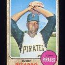1968 Topps Baseball #019 Juan Pizarro - Pittsburgh Pirates