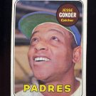 1969 Topps Baseball #617 Jesse Gonder - San Diego Padres