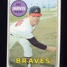 1969 Topps Baseball #282 Pat Jarvis - Atlanta Braves