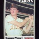 1970 Topps Baseball #234 Tommy Dean - San Diego Padres