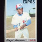 1970 Topps Baseball #147 Angel Hermosa RC - Montreal Expos