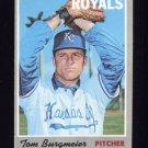 1970 Topps Baseball #108 Tom Burgmeier - Kansas City Royals