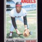 1970 Topps Baseball #029 Sandy Alomar - California Angels