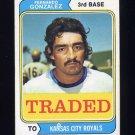 1974 Topps Traded #649T Fernando Gonzalez - Kansas City Royals