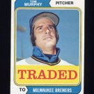 1974 Topps Traded #496T Tom Murphy - Milwaukee Brewers