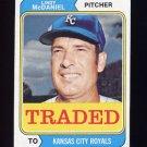 1974 Topps Traded #182T Lindy McDaniel - Kansas City Royals