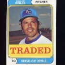 1974 Topps Traded #123T Nelson Briles - Kansas City Royals