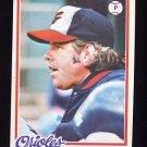 1978 Topps Baseball #717 Nelson Briles - Baltimore Orioles
