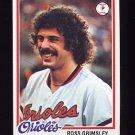 1978 Topps Baseball #691 Ross Grimsley - Baltimore Orioles