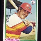 1978 Topps Baseball #677 Ed Herrmann - Houston Astros