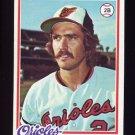 1978 Topps Baseball #666 Billy Smith RC - Baltimore Orioles
