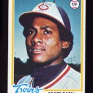 1978 Topps Baseball #657 Bombo Rivera - Minnesota Twins