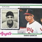 1978 Topps Baseball #656 Dave Garcia MG RC - California Angels