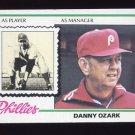 1978 Topps Baseball #631 Danny Ozark MG - Philadelphia Phillies
