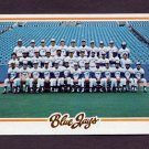 1978 Topps Baseball #626 Toronto Blue Jays Team Checklist NM-M