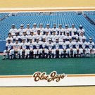 1978 Topps Baseball #626 Toronto Blue Jays Team Checklist Ex