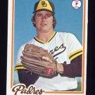 1978 Topps Baseball #594 Dave Freisleben - San Diego Padres