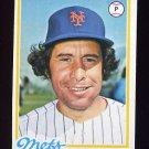 1978 Topps Baseball #592 Bob Apodaca - New York Mets