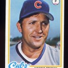 1978 Topps Baseball #585 Woodie Fryman - Chicago Cubs