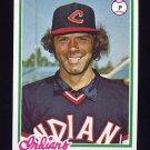 1978 Topps Baseball #575 Pat Dobson - Cleveland Indians