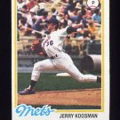 1978 Topps Baseball #565 Jerry Koosman - New York Mets VgEx