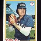 1978 Topps Baseball #552 Francisco Barrios - Chicago White Sox