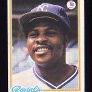 1978 Topps Baseball #550 John Mayberry - Kansas City Royals